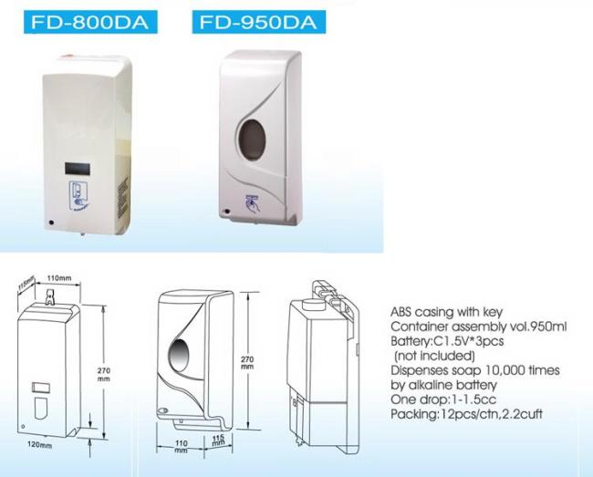 Automatic Soap Dispenser FD-800DA  FD-950DA